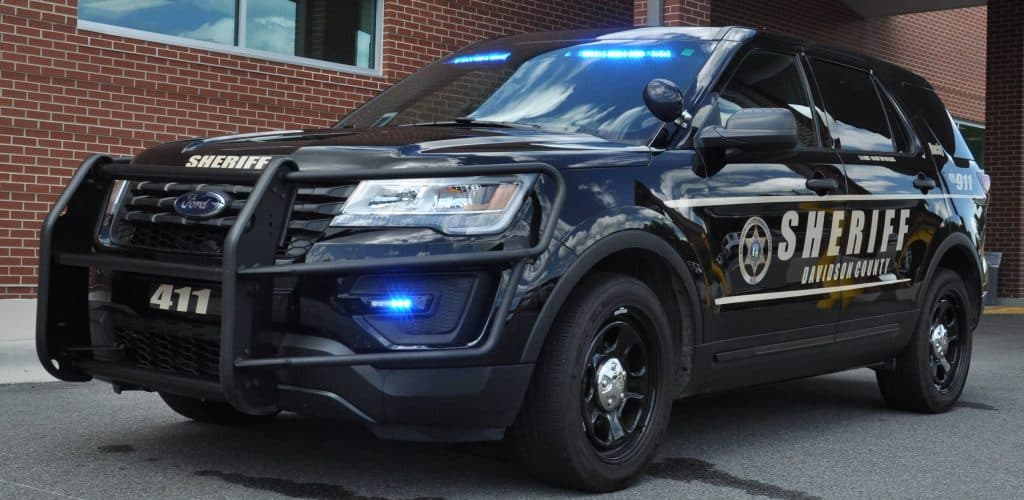 Davidson County Sheriff's vehicle
