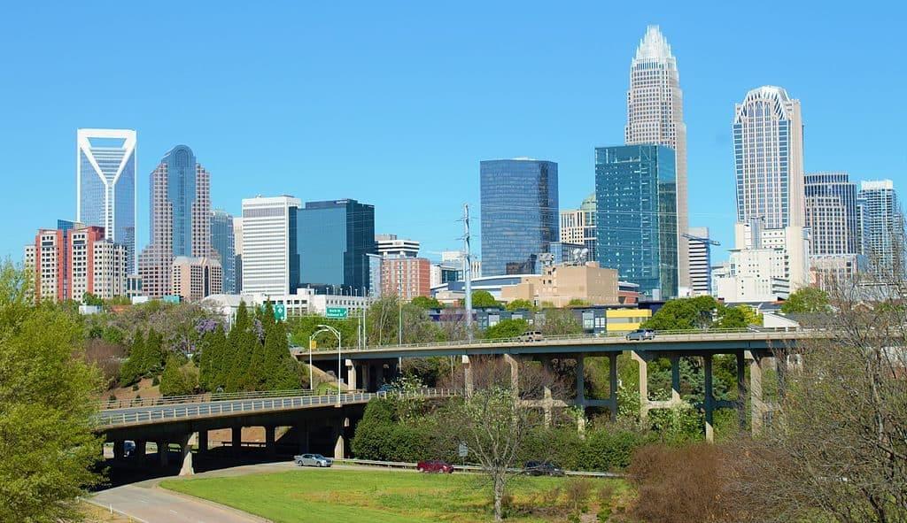 Skyline of Charlotte